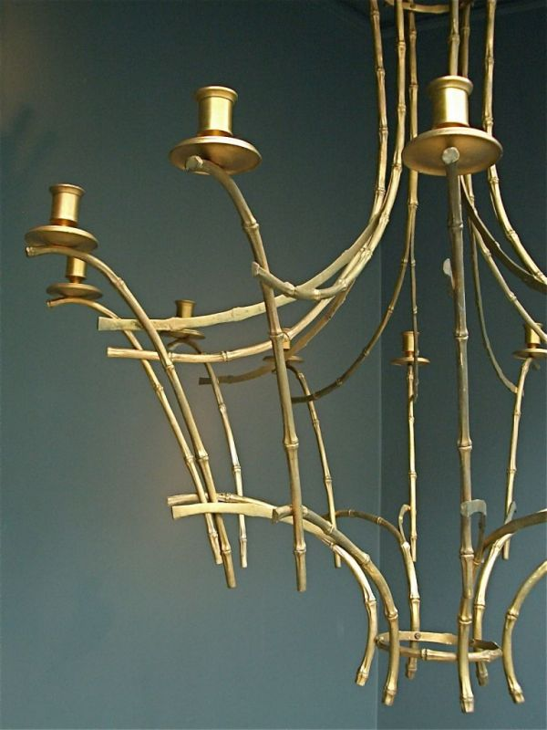 Faux Bamboo Chandelier Stock Decorative Antiques