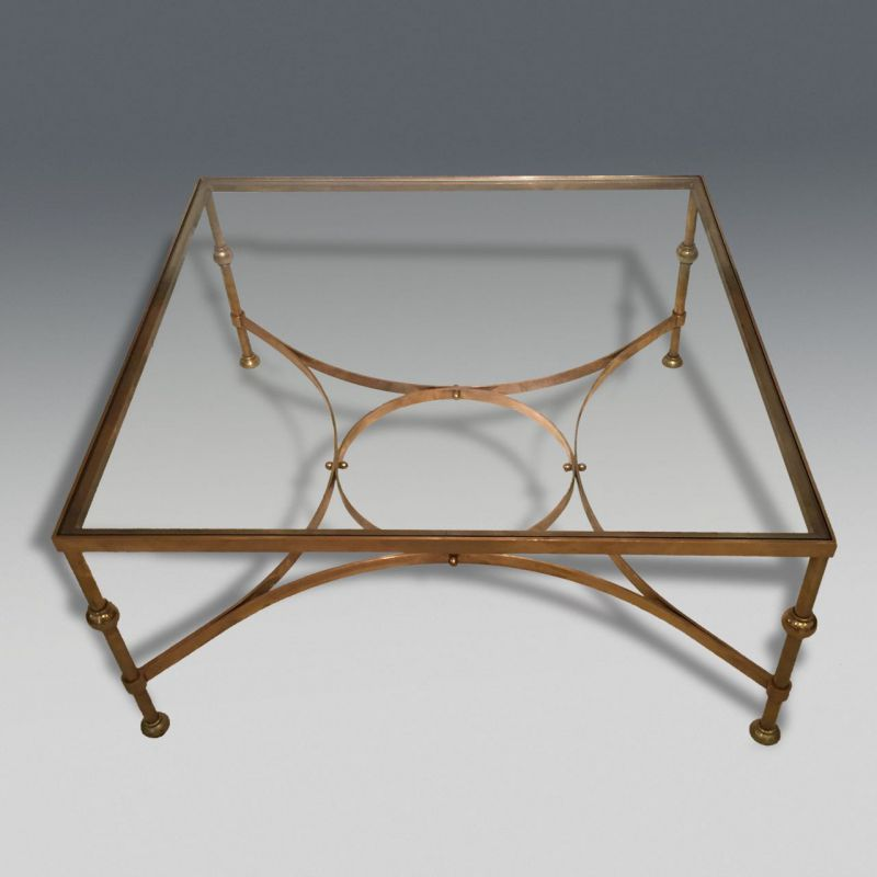 Linus 79cm White Marble Coffee Table: Decorative Antiques